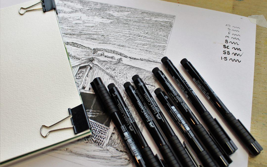 Reklama na długopisie